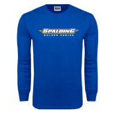 Royal Long Sleeve T Shirt-Word Mark