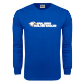 Royal Long Sleeve T Shirt-Spalding Golden Eagles