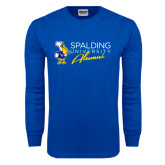 Royal Long Sleeve T Shirt-Spalding University Alumni