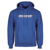 Royal Fleece Hoodie-Word Mark