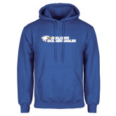 Royal Fleece Hood-Spalding Golden Eagles