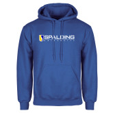 Royal Fleece Hoodie-Spalding University