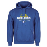 Royal Fleece Hoodie-Volleyball