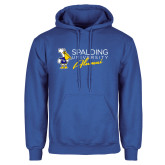Royal Fleece Hoodie-Spalding University Alumni