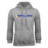 Grey Fleece Hoodie-Spalding University