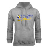 Grey Fleece Hoodie-Spalding University Alumni