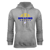 Grey Fleece Hood-Soccer