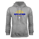 Grey Fleece Hoodie-Soccer
