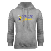 Grey Fleece Hoodie-Spalding University Alumni