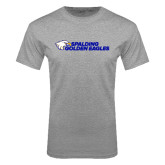 Sport Grey T Shirt-Spalding Golden Eagles