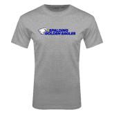 Grey T Shirt-Spalding Golden Eagles