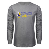 Grey Long Sleeve T Shirt-Spalding University Alumni