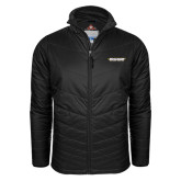 Columbia Mighty LITE Black Jacket-Word Mark