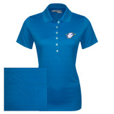 Ladies Callaway Opti Vent Sapphire Blue Polo-Primary Mark