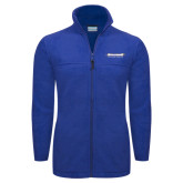 Columbia Full Zip Royal Fleece Jacket-Word Mark