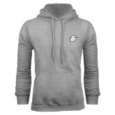 Grey Fleece Hood-Primary Mark