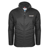 Columbia Mighty LITE Charcoal Jacket-Word Mark