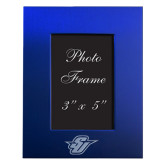 Royal Brushed Aluminum 3 x 5 Photo Frame-Primary Mark Engraved
