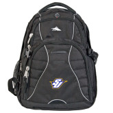 High Sierra Swerve Black Compu Backpack-Primary Mark