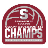 Large Decal-NCAA III Mens Volleyball Champs