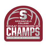 Small Decal-NCAA III Mens Volleyball Champs