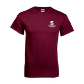 Maroon T Shirt-Official Logo