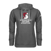 Adidas Climawarm Charcoal Team Issue Hoodie-Springfield College Athletics