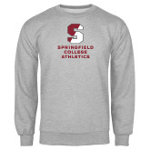Grey Fleece Crew-Springfield College Athletics