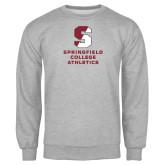 Grey Fleece Crew-Springfield College Athletics