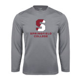 Performance Steel Longsleeve Shirt-Official Logo