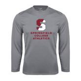 Syntrel Performance Steel Longsleeve Shirt-Springfield College Athletics