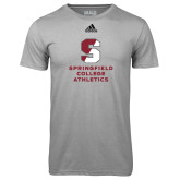 Adidas Climalite Sport Grey Ultimate Performance Tee-Springfield College Athletics