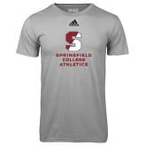 Adidas Climalite Sport Grey Ultimate Performance Tee-Springfield College Athletics