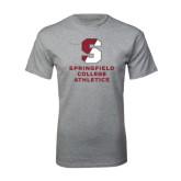 Grey T Shirt-Springfield College Athletics