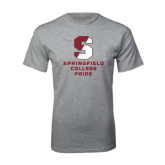 Grey T Shirt-Springfield College Pride