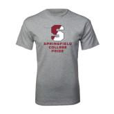 Grey T Shirt-Springfield College Pride