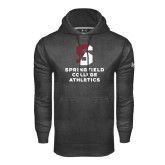 Under Armour Carbon Performance Sweats Team Hoodie-Springfield College Athletics