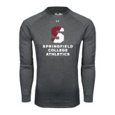 Under Armour Carbon Heather Long Sleeve Tech Tee-Springfield College Athletics