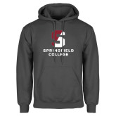 Charcoal Fleece Hoodie-Official Logo