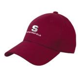 Maroon Heavyweight Twill Pro Style Hat-Springfield S