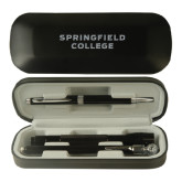 Black Roadster Gift Set-Springfield College Engraved