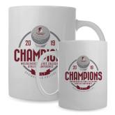 Full Color White Mug 15oz-2019 Golf Champions