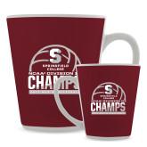 Full Color Latte Mug 12oz-NCAA III Mens Volleyball Champs