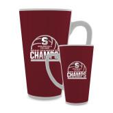 Full Color Latte Mug 17oz-NCAA III Mens Volleyball Champs