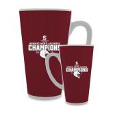 Full Color Latte Mug 17oz-NEWMAC Mens Lacrosse Champions