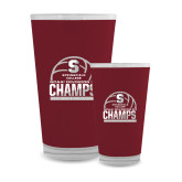 Full Color Glass 17oz-NCAA III Mens Volleyball Champs