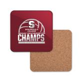 Hardboard Coaster w/Cork Backing-NCAA III Mens Volleyball Champs