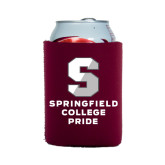 Collapsible Maroon Can Holder-Springfield College Pride