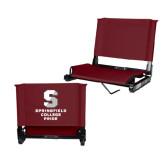 Stadium Chair Maroon-Springfield College Pride