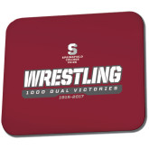 Full Color Mousepad-Wrestling - 1000 Dual Victories